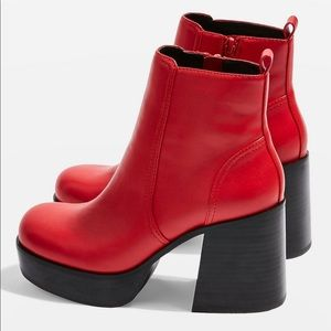 Monster Red Boots